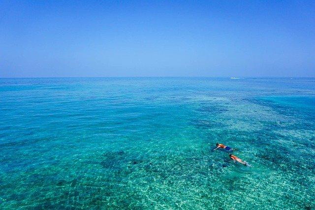Schnorchelset test 2017 im Meer